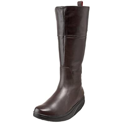 MBT Women's Tenga Tall Shaft Boot,Chocolate,39 M EU / 8-8.5 B(M)