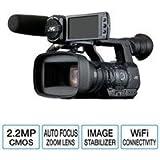 "JVC GY-HM650 ProHD Mobile News Camera, 2.2MP, Three 1/3"" 12-Bit CMOS Sensors, 23x Fujinon Auto Focus Zoom Lens, Built-In GPS - Open Box"