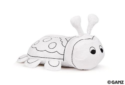 Ganz Plush - Mini Coloring Kit - LADYBUG (6 inch)