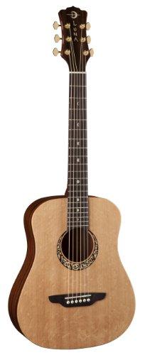 Luna Guitars Safari Supreme Acoustic Guitar