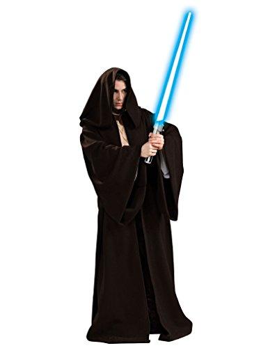 [Mygems Super Deluxe Star Wars Jedi Robe Costume] (Super Deluxe Jedi Robe Costume)