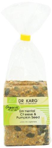 Dr Karg Emmental Cheese and Pumpkin Seed Organic Wholegrain Crispbread 200 g (Pack of 8)