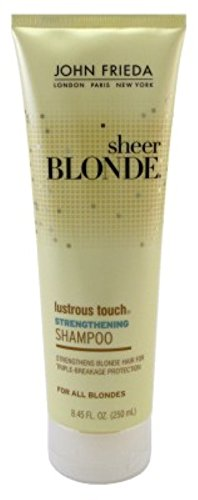 John Frieda Sheer Blonde Lust Touch Shampoo 8.45oz (6 Pack)