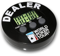 Why Choose World Poker Tour (WPT) DB Dealer Button Poker Timer - Blinds Timer & Dealer Button al...