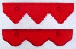 JEM Cutters Frill Cutter Set - Deep
