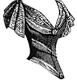 1889 Victorian Low Bodice for Gown Pattern