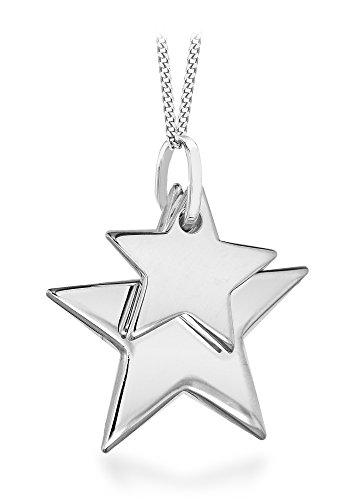 tuscany-silver-sterling-silver-small-double-star-pendant-on-curb-chain-of-46-cm-18-inch