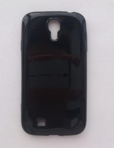 glossy black bumper case für samsung galaxy i9500 tpu flexible s4
