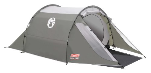 Coleman Coastline 3 Compact 3 Person Tent - Green/Grey