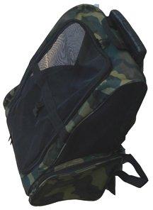 Amazon Com Camo Deluxe Backpack Pet Carrier On Wheels