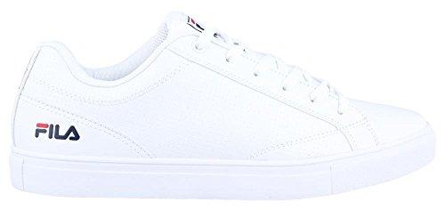 Men's Fila, Amalfi Lace up Shoe WHITE NAVY RED 10 M