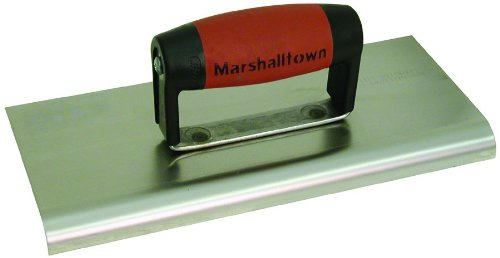 Marshalltown M192SS 10-inch Stainless Steel Cement Edger - Durasoft Handle