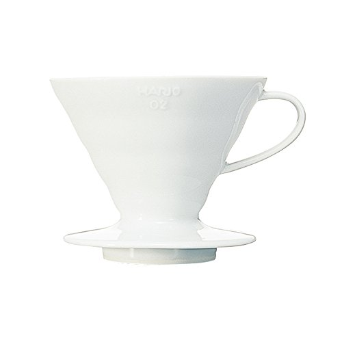 Hario VDC-02W V60 Ceramic Coffee Dripper, White (Hario Coffee Dripper compare prices)