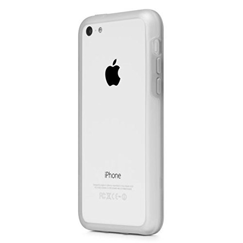 Incase Frame Case for iPhone 5c - Retail Packaging - Clear Matte/Grey [並行輸入品]