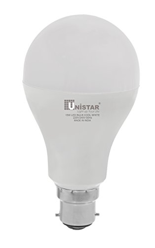 UNISTAR B22 15W LED Bulb (Cool white)