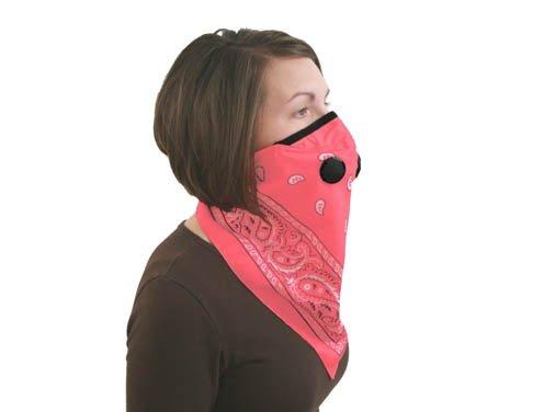 Imagen de ATV TEK - Pro Series Rider máscara contra el polvo Bandana - Rosa