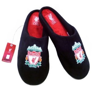 Liverpool Fc Mens Slippers With Sound Size 9-10 by baf