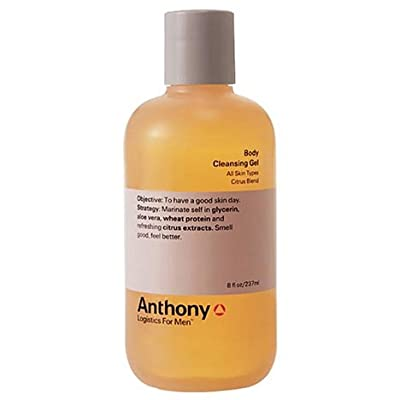 Best Cheap Deal for Anthony Logistics for Men Body Cleansing Gel Citrus, 8 fl. oz. by Anthony Logistics for Men - Free 2 Day Shipping Available