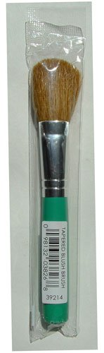 Bare Escentuals Tapered Blush Brush Green Handle Sealed from Bare Escentuals