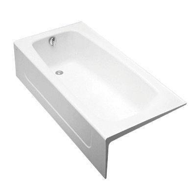 Toto FBY1715LPNo.01 Enameled Cast Iron Bathtub 65-3/4-Inch by 32-Inch by 16-3/4-Inch, Cotton