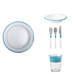 OXO Tot Big Kids Bundle, Aqua