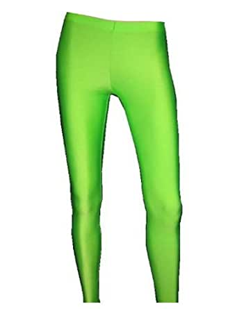 Neon UV Green Leggings - (M/L)