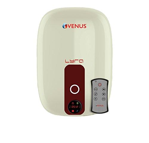 Venus Lyra Digital 15RD 15-Litre Storage Water Heater (Ivory/Wine Red)