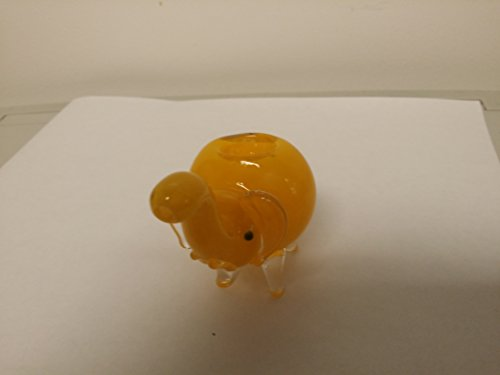 Yellowish-Elephant-Glass-Pipe