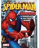 The Amazing Spider-Man Jumbo Coloring & Activity Book (Assorted Coverart)