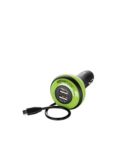 Boompods Carpods Android, Green