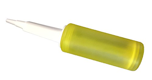 Double Action Balloon Pump Inflator - Works with Almost All Latex Balloons - Pink or Blue or Yellow