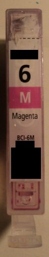 1x BCI 6m magenta rot Refill für Canon Drucker BJC-3000 3010 6000 6100 6200 6200s 6500 BJ-F300 F600v MPC 400 600F 700 photo 730 photo Multipass F30 F50 F60 F80 C100 C755 S400 S450 S4500 S500 S520 S530 S530D S600 S630 S6300 S700 S750 S800 S820 S830D S900 S9000 T-Fax 7960 i550 i560 i6500 i850 i865 i900d i905 i9100 i950 i965 i990 i9950 iP 3000 4000 5000 6000D 8500 MP 700 730 750 760 780 BCI-5c BJC-8200