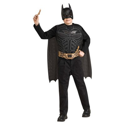 [Batman the Dark Night Child Dress Up Set] (Baseball Bat Man Costume)
