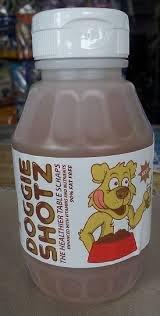 Doggie Shotz Turkey & Mash Flavor 9-Oz Bottle
