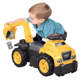 Hours of creative play with the CAT 3-in1 Ride On!