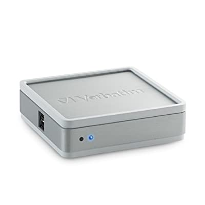 Verbatim MediaShare Mini Home Network Storage 97329 (Silver) from Verbatim