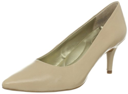 Bandolino Women's Inspire Leather Pump,Natural