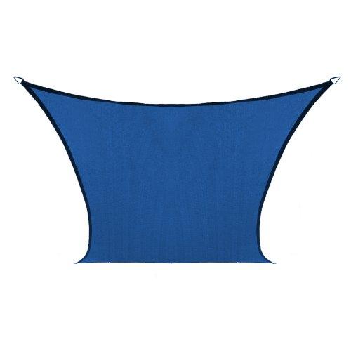 Coolaroo Custom Square Shade Sail, Aquatic Blue,