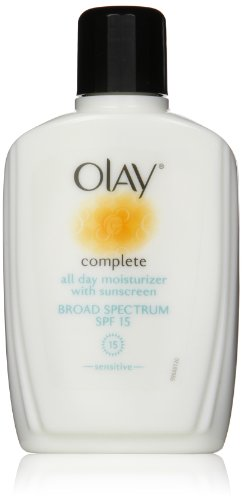 Olay Complete All Day Moisturizer With Sunscreen Broad Spectrum Spf 15 - Sensitive, 6 Fl. Oz., 2 Count front-708732