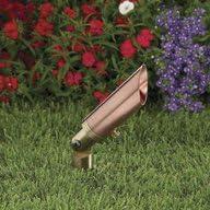 Vista Pro Up and Accent Landscape Lighting G R2211 Natural Copper