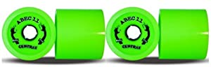 Click here to buy Abec 11 Centrax 83mm 80a Reflex Lime Green Longboard Skateboard Wheels by ABEC 11.