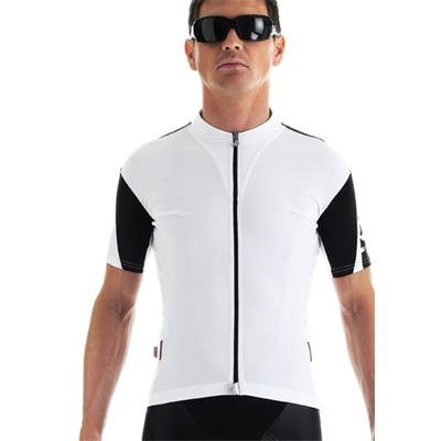 Buy Low Price Assos 2013 Men's SS.13 Short Sleeve Cycling Jersey – White – 11.20.202.50 (B002F9FGVC)