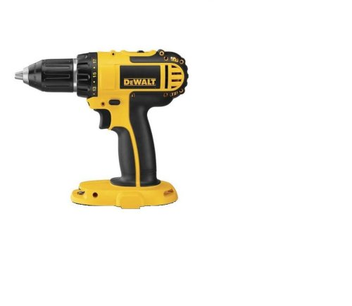 Bare-Tool DEWALT DC720 18-Volt Cordless 1/2-Inch Drill/Driver (Tool Only, No Battery)