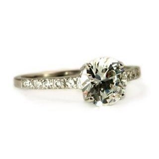 Ella's Sterling Silver CZ Promise Ring - 7