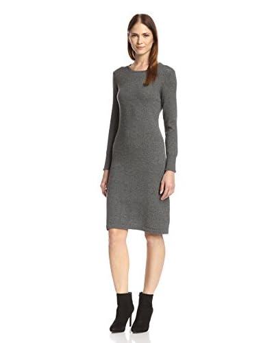Cashmere Addiction Women's Cashmere Crewneck Dress