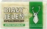 Natural Soap - Mydlo Szare - Bialy Jelen