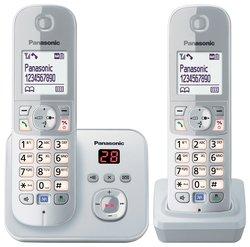 T�l�phone fixe PANASONIC KXTG6822GB NOIR DUO AVEC REPONDEUR