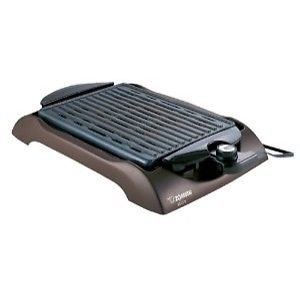 Brand New Zojirushi Eb-Cc15 Indoor Countertop Electric Grill Non-Stick Heat Control Ebcc15