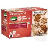 Green Mountain Gingerbread Coffee K?Cups ? 12 count ( Pack 2 ) by Green Mountain Coffee