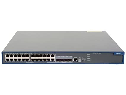 HP A5120-24G EI Switch Commutateur C4 Géré 24 x 10/100/1000 + 4 x SFP partagé Montable sur rack
